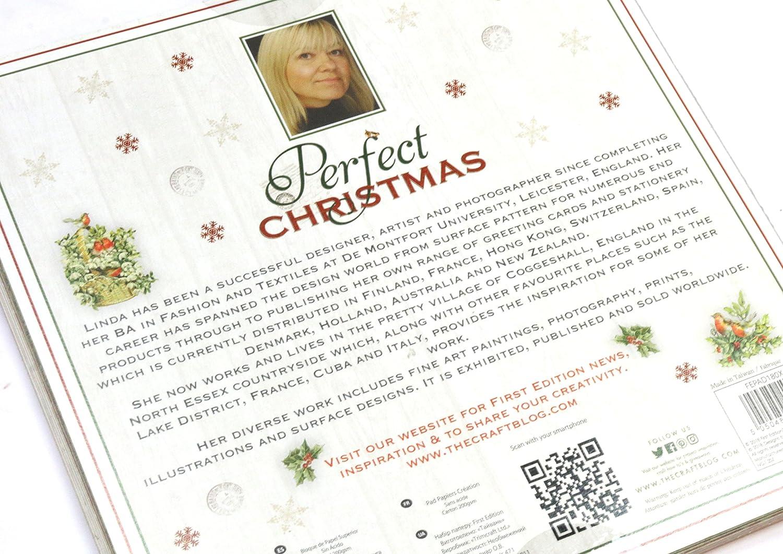 multicolor FSC Primera edici/ón de Navidad Perfect Christmas Premium Paper Pad 6x6 48 Sheets First Edition Christmas