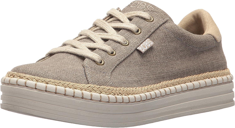 Burlap Wedge Espadrille Fashion Sneaker