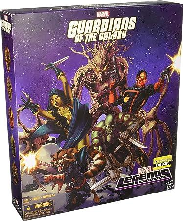 Guardianes de la Galaxia Pack de 5 Figuras EE Exclusive 15 cm ...