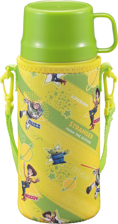 inoxidable botella botella de agua Parukinzoku Disney recta potable taza para beber niños 2VÍAS cubierta 600 ml doble aislamiento botella de vacío de acero caliente-frío botella con Toy Story / héroe