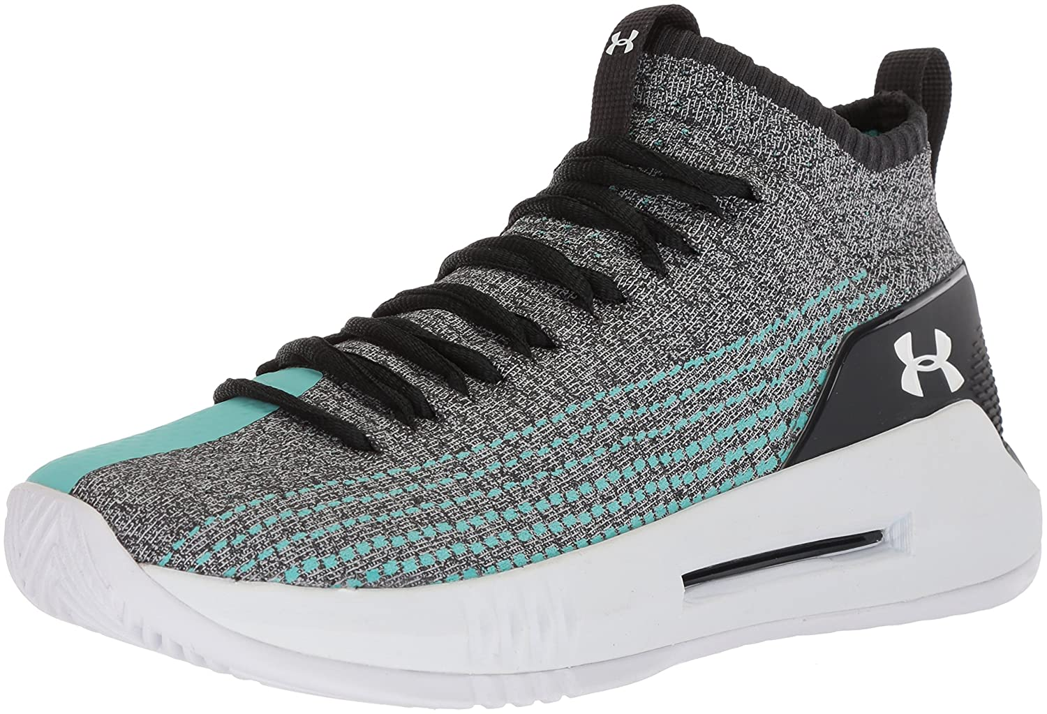 Under Armour Men's Heat Seeker Basketball Shoe B071S8D8Q1 12 M US|Anthracite (101)/Tropical Tide