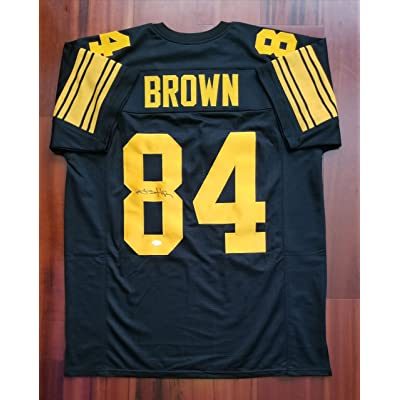 9c66f4db3 Antonio Brown Autographed Signed Jersey Pittsburgh Steelers JSA