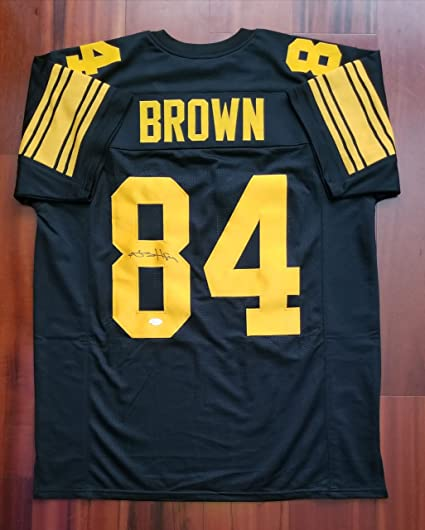 d3bcac9d7 Antonio Brown Autographed Signed Jersey Pittsburgh Steelers JSA at ...