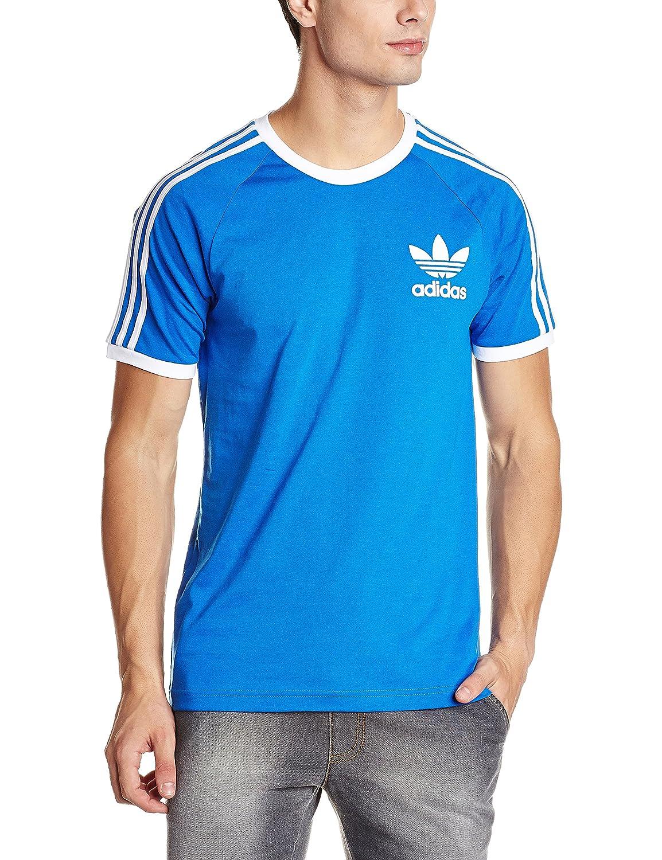 Adidas Originals California T Shirt Womens Blue   Summer Cook