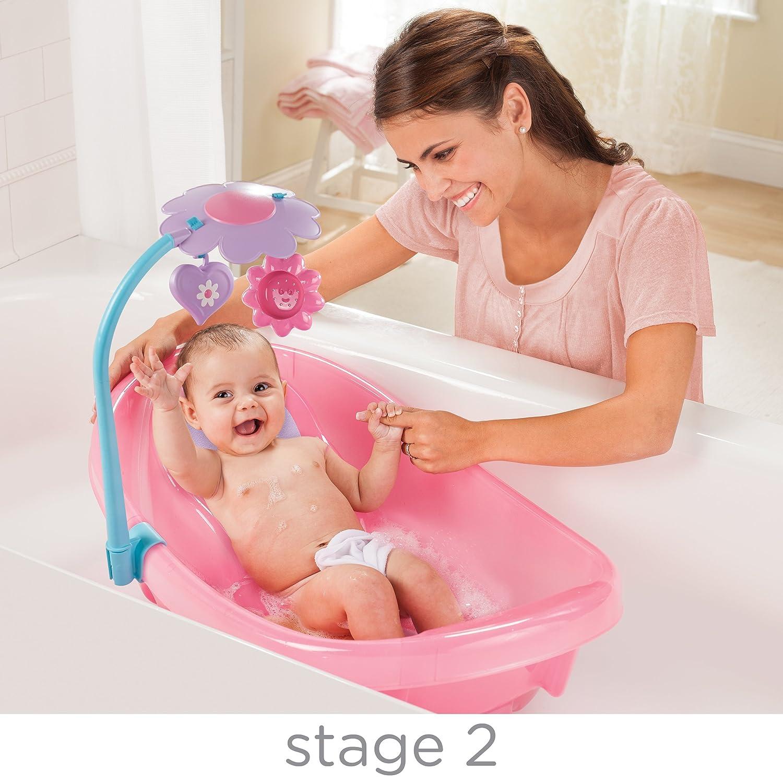 Amazon.com : Summer Infant Sparkle Fun Newborn-to-Toddler Baby Tub ...