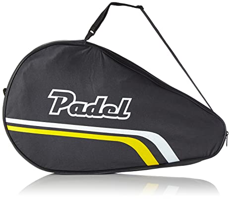 Softee - Funda Neutra Pala-Padel, color negro