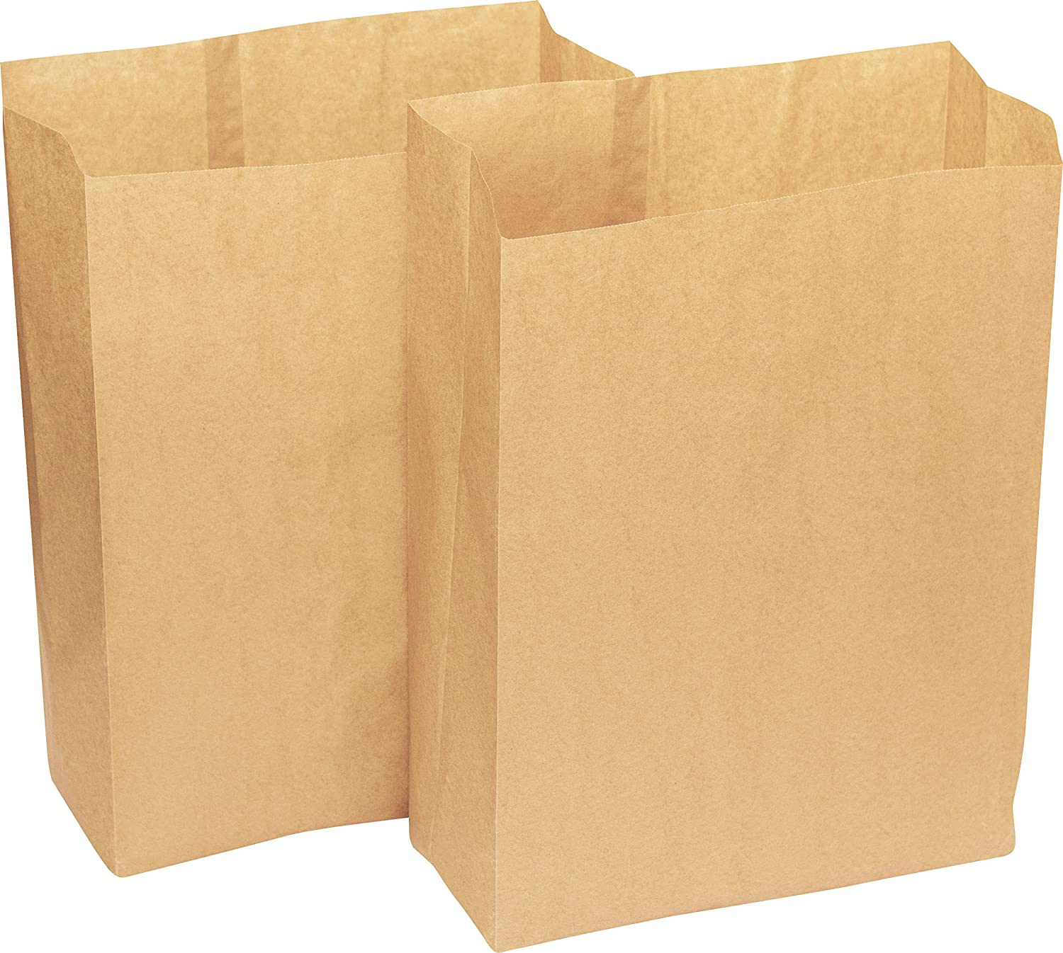 Biodegradable Brown 7 Litre Paper Sack With Alina Composting Guide 50 Bags New