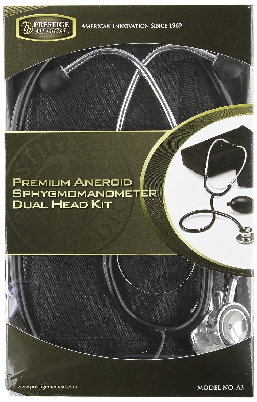 NCD Medical/Prestige Medical - Juego de instrumentos médicos (tensiómetro de brazo y estetoscopio de doble cabezal), color azul cobalto (königsblau): ...