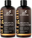 ArtNaturals Arganöl Shampoo und Conditioner Set - (2 x 16 Fl Oz / 473ml) - Haarwuchs Anregend - Haarwachstum beschleunigen - Organische Inhaltsstoffe - Sulfat-frei