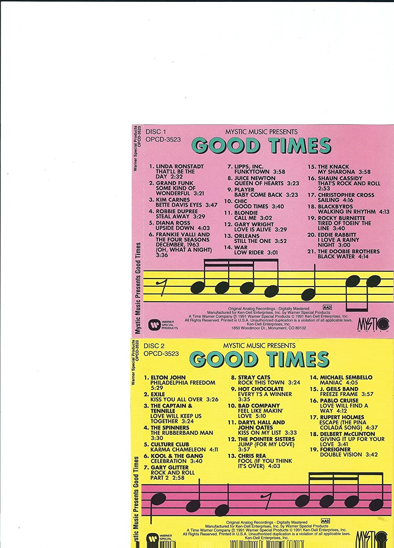 Various Artists - Mystic Music Presents Good Times - Amazon com Music