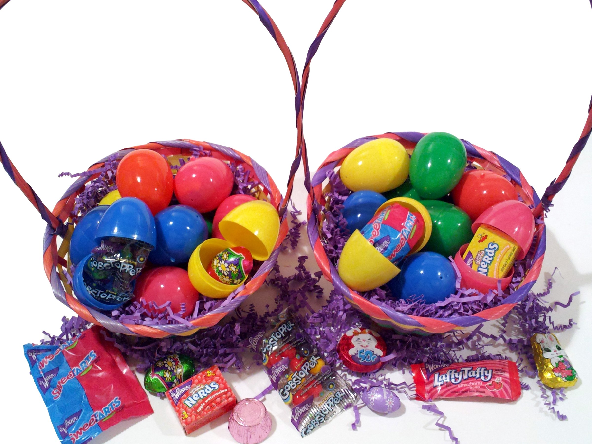 750 Lot Pre-Filled Easter Eggs, Solid, Egg Hunt Mixed Candy Chocolates & Toys