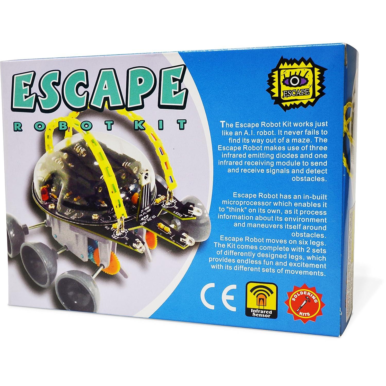 Amazon Elenco Escape Robot Kit Toys & Games