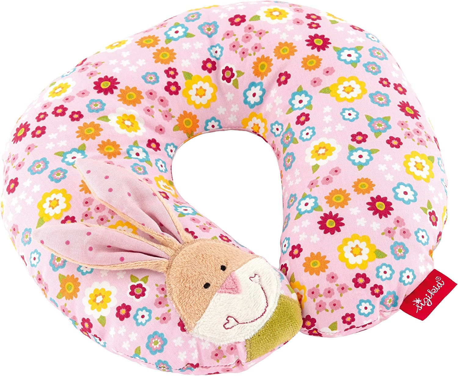 40835 Coussin Repose Cou Lapin Rose//Multicolore Fille sigikid Bungee Bunny
