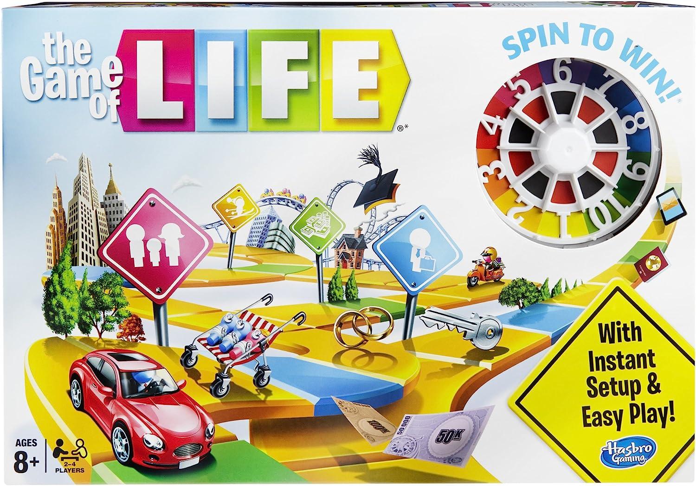 Hasbro Gaming 04000 - The Game of Life, Juego de Tablero (versión ...