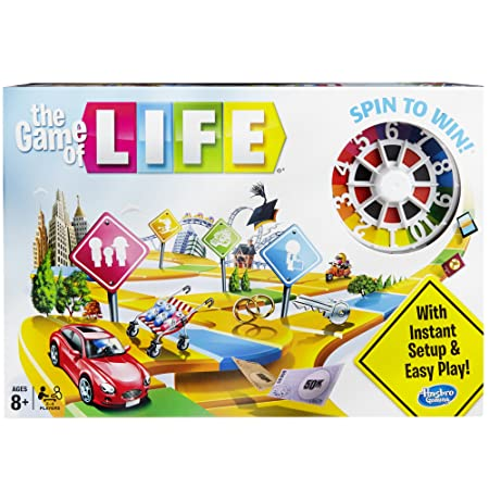 the Game of Life Game, Multi Color Games at amazon