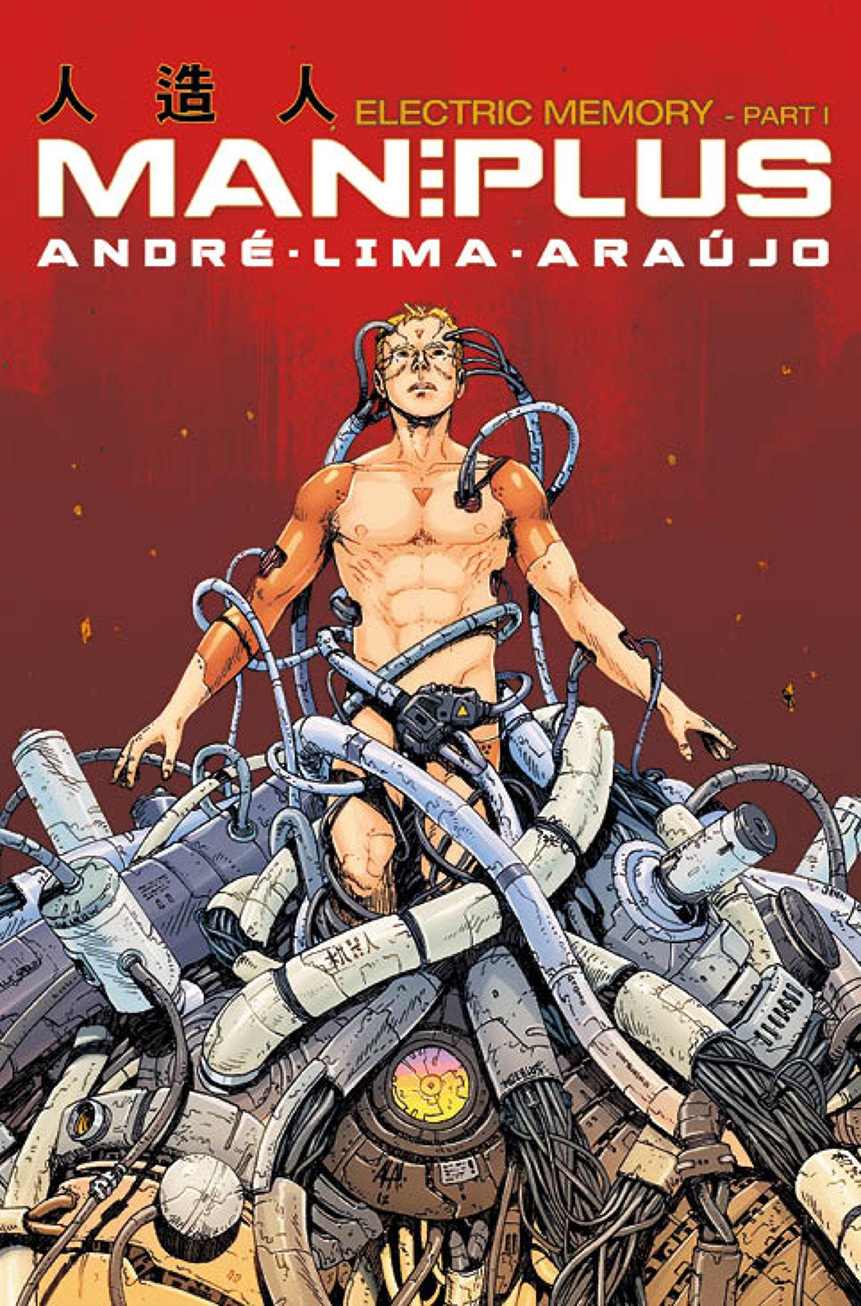 Man Plus: Part I: Electric Memory by Titan Comics