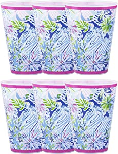 Lilly Pulitzer Pool Cups Lion Around One Size