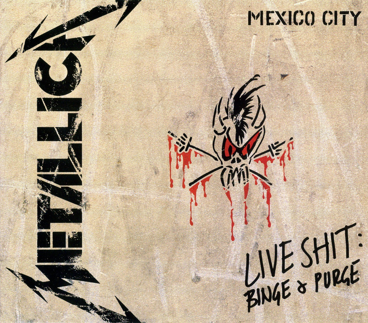 Live Shit Binge and Purge: Mexico City ONLY by Elektra