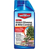 Bayer 701285B 3-in-1 Insect Disease and Mite Control Concentrate, 32-Ounce