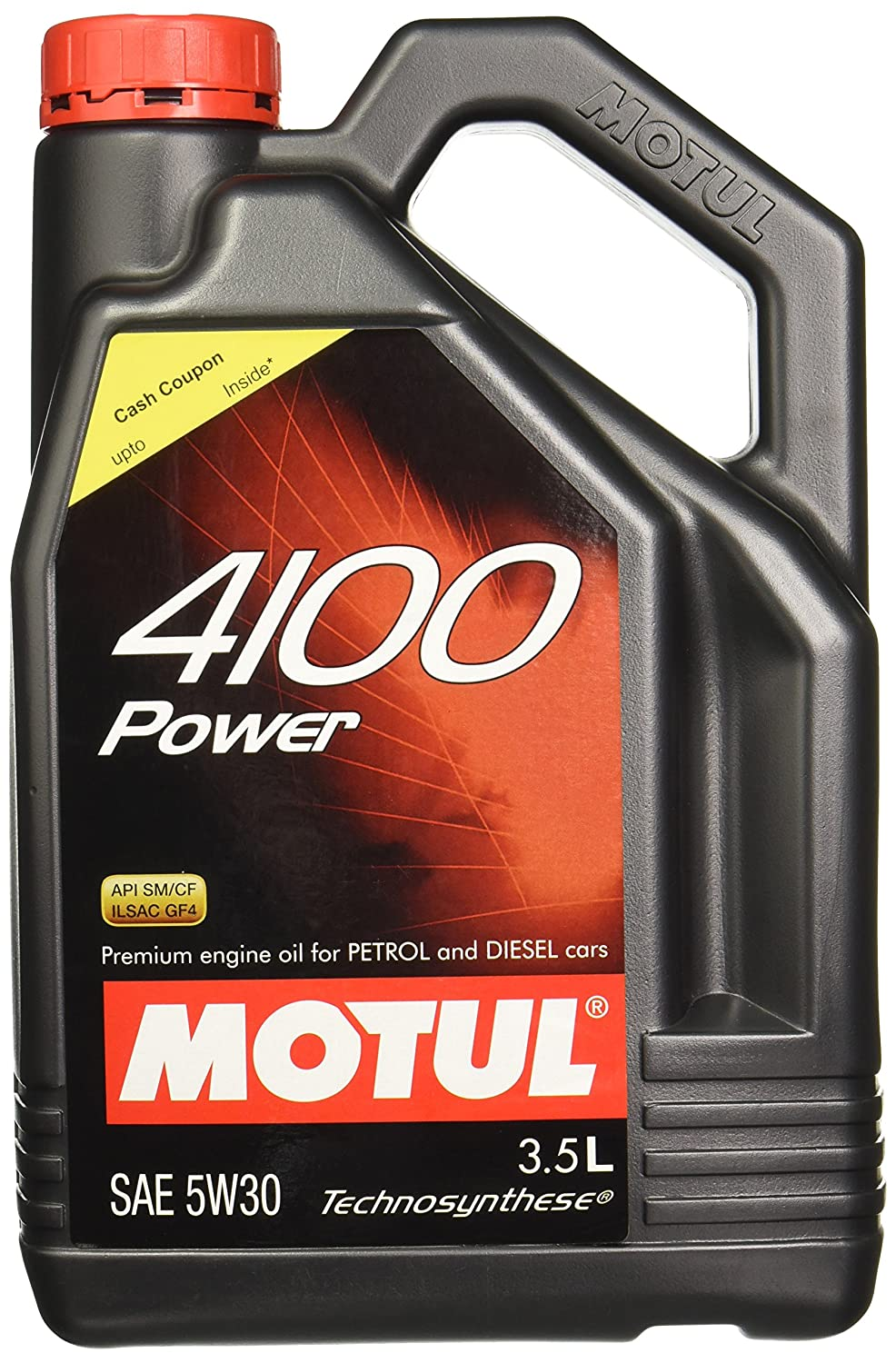 Engine Oils For Cars Buy Online At Best Prices Hyundai 3 5l Parts Breakdown Motul 4100 Power Sae 5w30 Semi Synthetic Oil Petroldieselcng