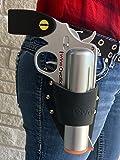 WineOvation WNH-01B Wine Gun Holster - 100% Leather USA Made - Black