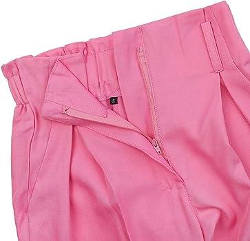 f14665640 Fancyinn Conjunto Mujer 2 Piezas Verano Pantalon y Top Mono Fiesta Playa  Rosada