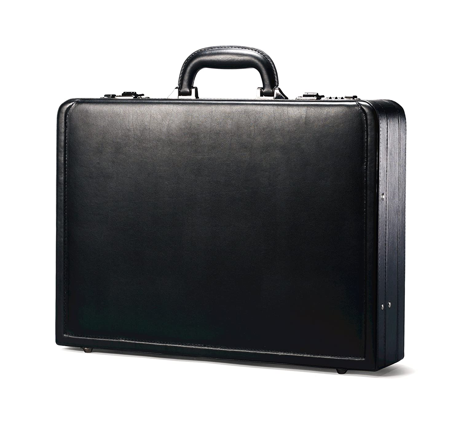 Samsonite Bonded Leather Attache, Black Samsonite Corporation 43115-1041
