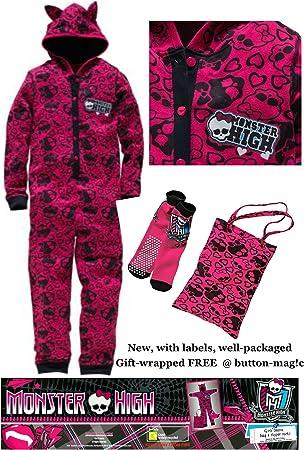 Monster High . Conjunto de pijama de chicas para fiesta de ...