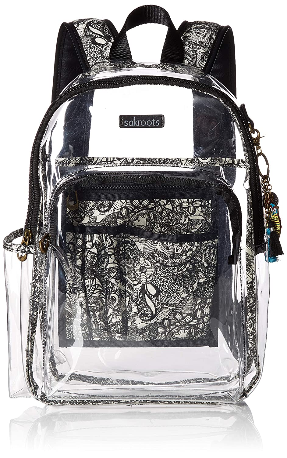 Sakroots ユニセックスアダルト Sakroots Festival Backpack One Size クリア B07L698VMX