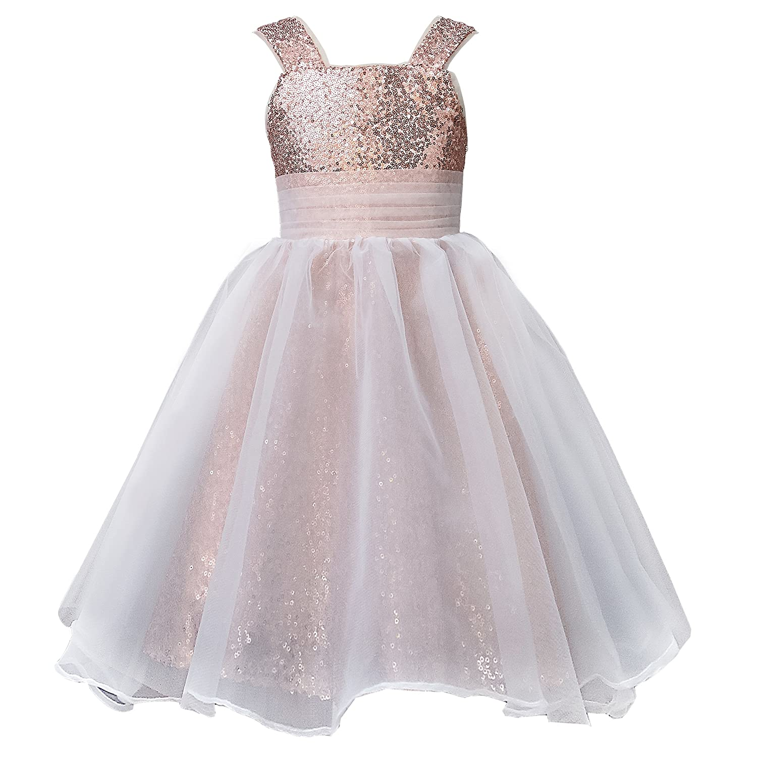 627e6c49bca The outside fabric is tulle and sequin.Tulle edge will protect the sequin  from scratch baby girls  skin. And the lining is pongee with soft