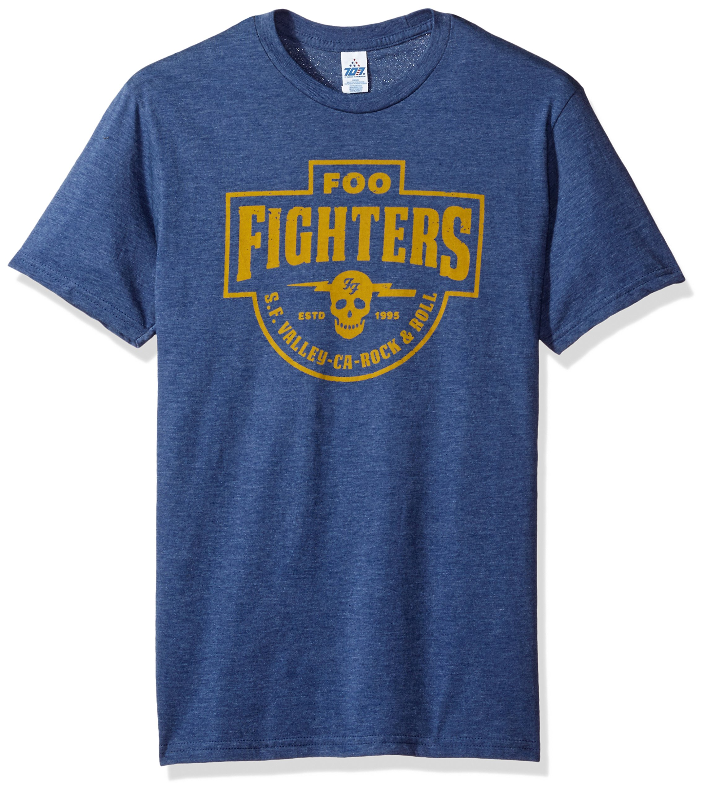 FEA Men's Foo Fighters S.F. Valley Mens T-Shirt, Heather Navy, Medium by FEA (Image #1)