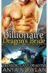 Billionaire Dragon's Bride: BBW Paranormal Shapeshifer Dragon Romance (Treasure Lane Dragons Book 1) Kindle Edition