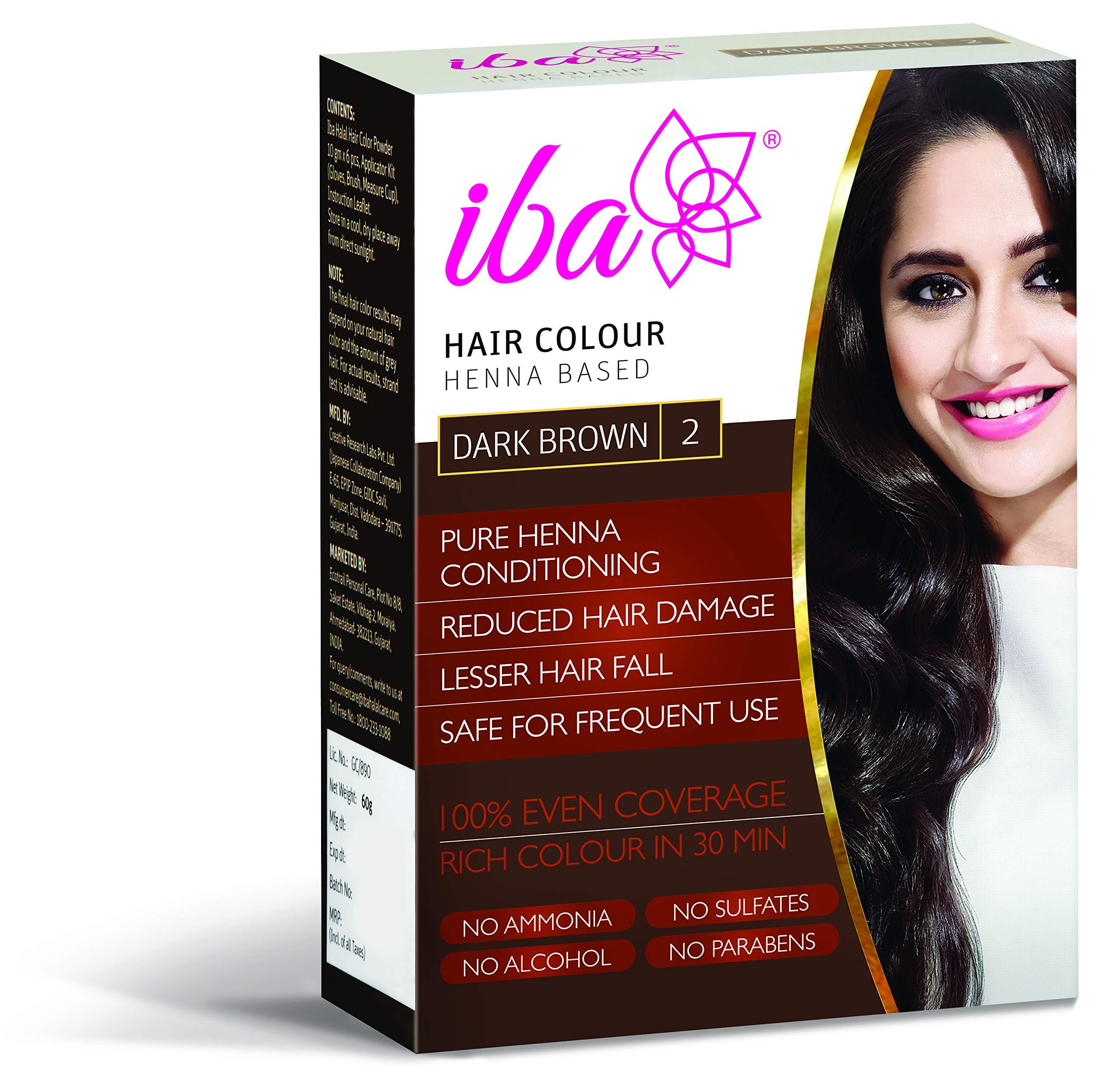 Buy Iba Halal Care Hair Color, Dark Brown, 60g Online at Low ...