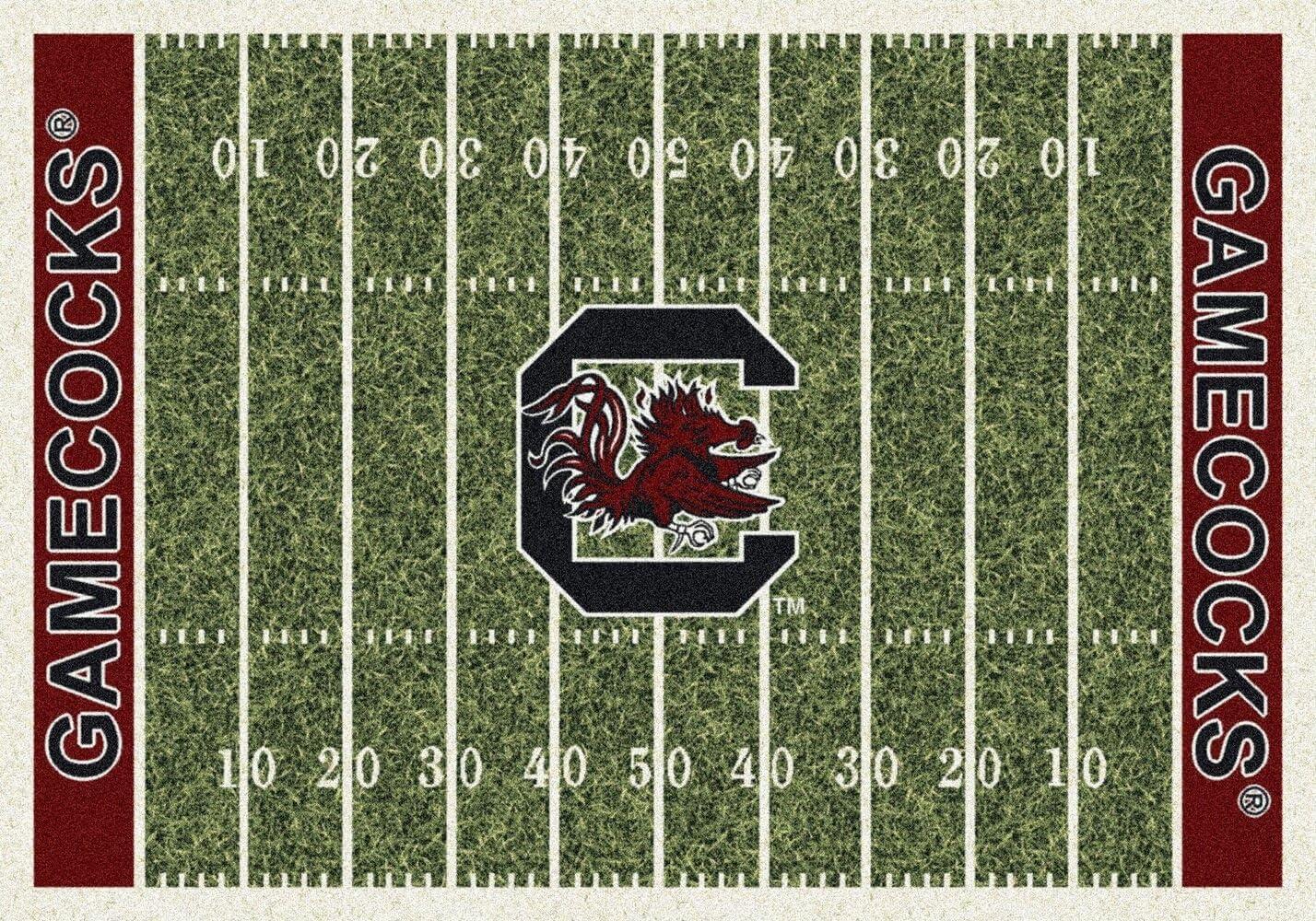Koeckritz Rugs South Carolina Gamecocks NCAA Area Rug 5 4 x 7 8 , Home Field