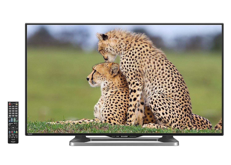 シャープ 40V型 液晶 テレビ AQUOS LC-40W20-B フルハイビジョン 外付HDD対応(裏番組録画) ブラック 2015年モデル B00UJ82Q14 ブラック