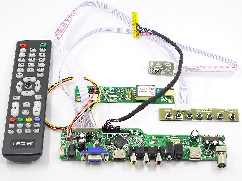 LCD LED LVDS Controller Board Driver kit for B154EW02 v.0 HDMI VGA DVI