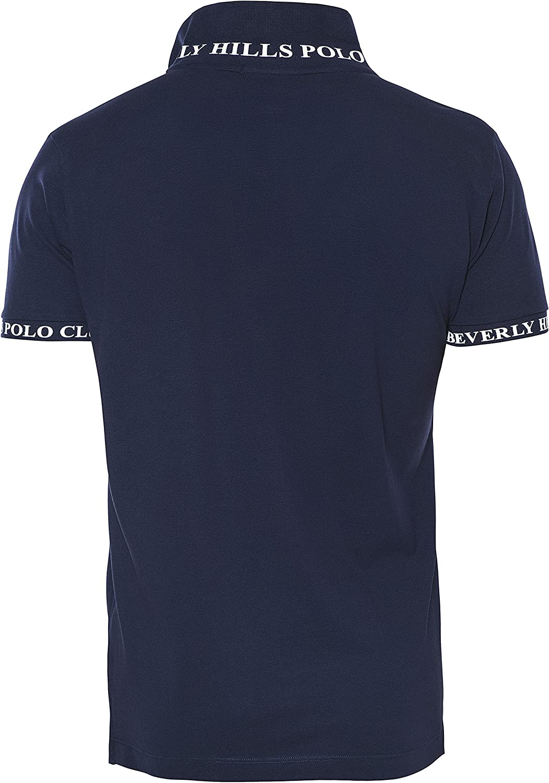 Beverly Hills Polo Club - Camiseta - para Hombre Azul Azul Marino ...
