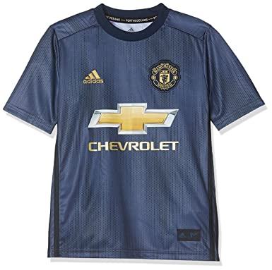 online store aac99 35336 adidas Boys Manchester United Third Mini Kit 2018 2019