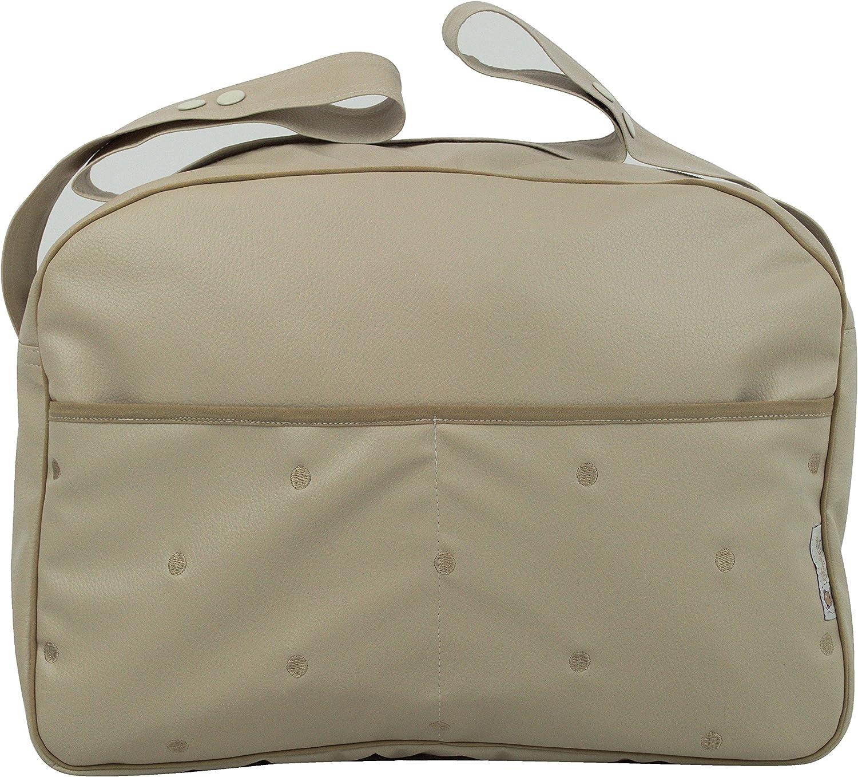 Maxi bolso para carrito de bebé. Varios modelos y colores disponibles. (Arena/Camel)