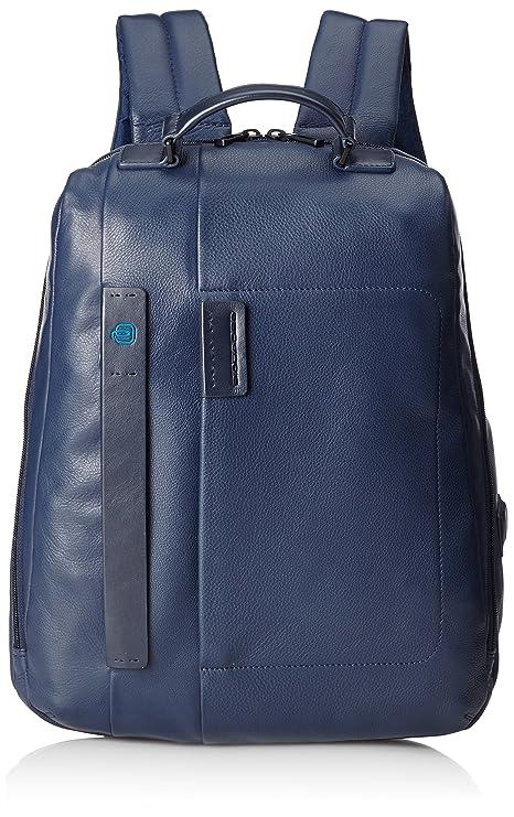 data di rilascio: e5323 d75c2 Piquadro Pulse 15'' Laptop Zaino, Pelle, Blu, 42 cm