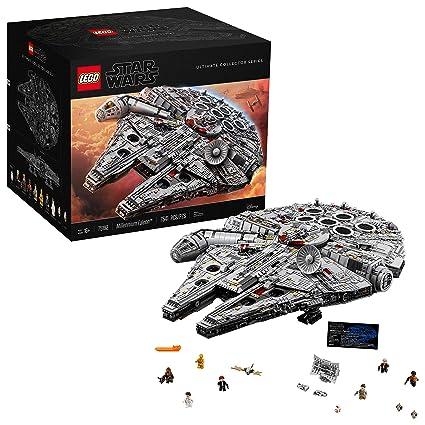 millennium falcon lego  LEGO Star Wars Ultimate Millennium Falcon 75192 Building Kit (7541 Pieces)