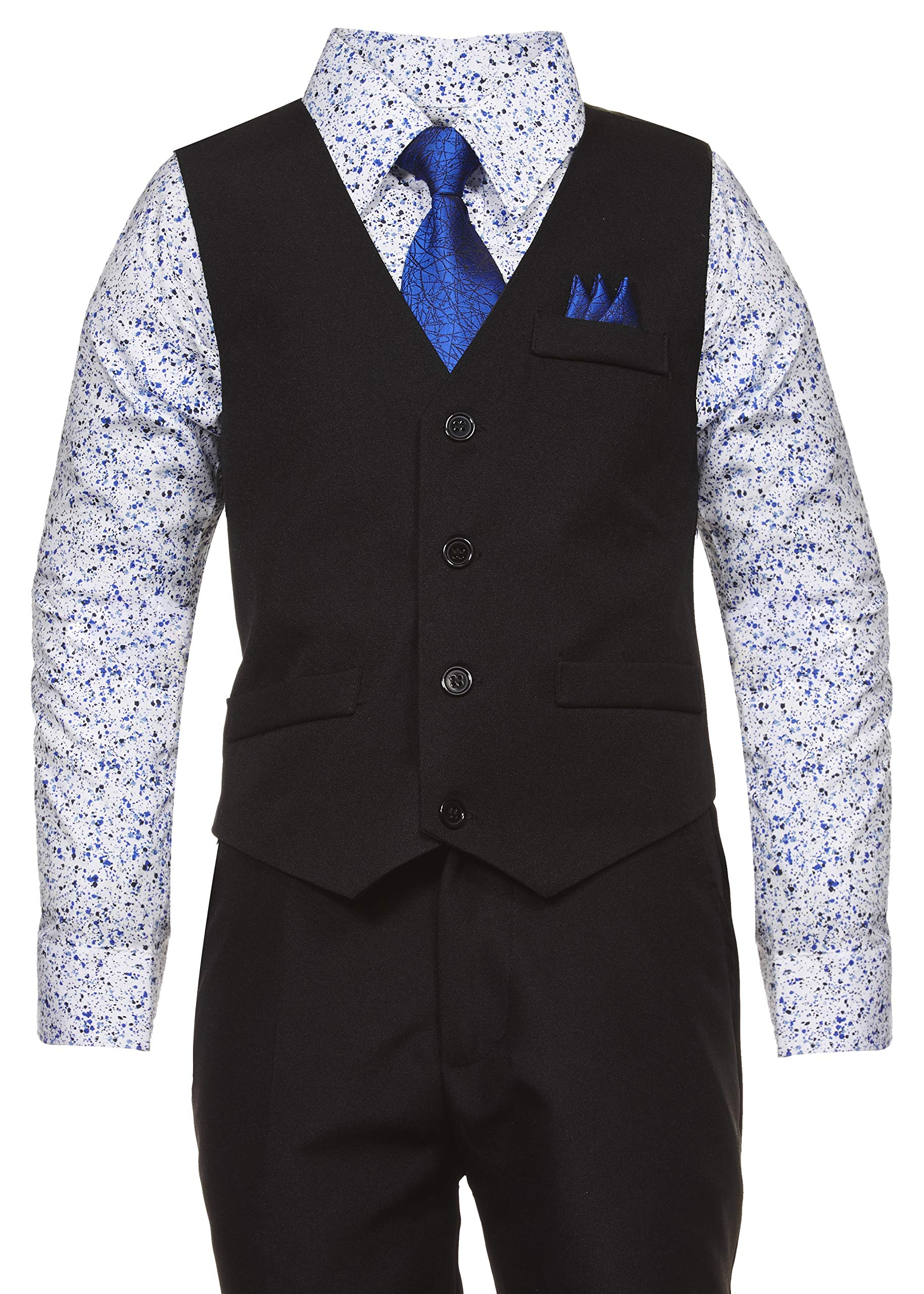 Vittorino Little Boys 4-Piece Vest Set