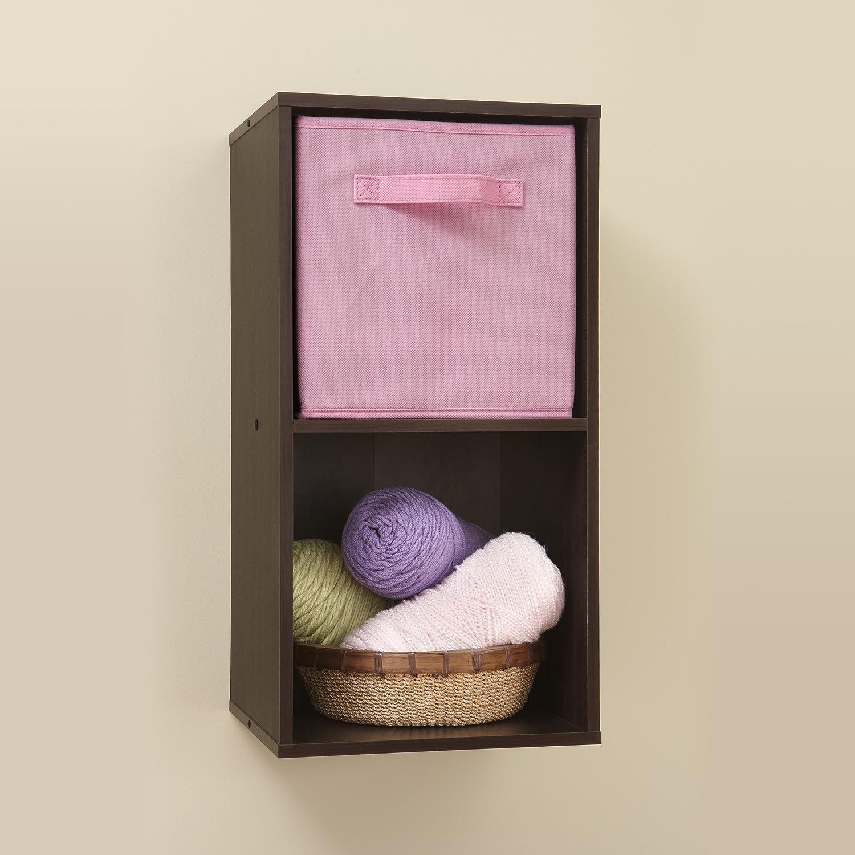 Amazon.com: ClosetMaid (78817) Cubeicals Organizer, 2 Cube   Espresso: Home  U0026 Kitchen