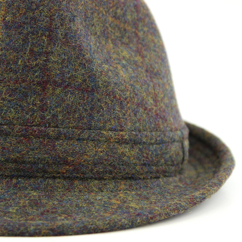 02882ee334076 Hawkins brushed wool tweed trilby hat