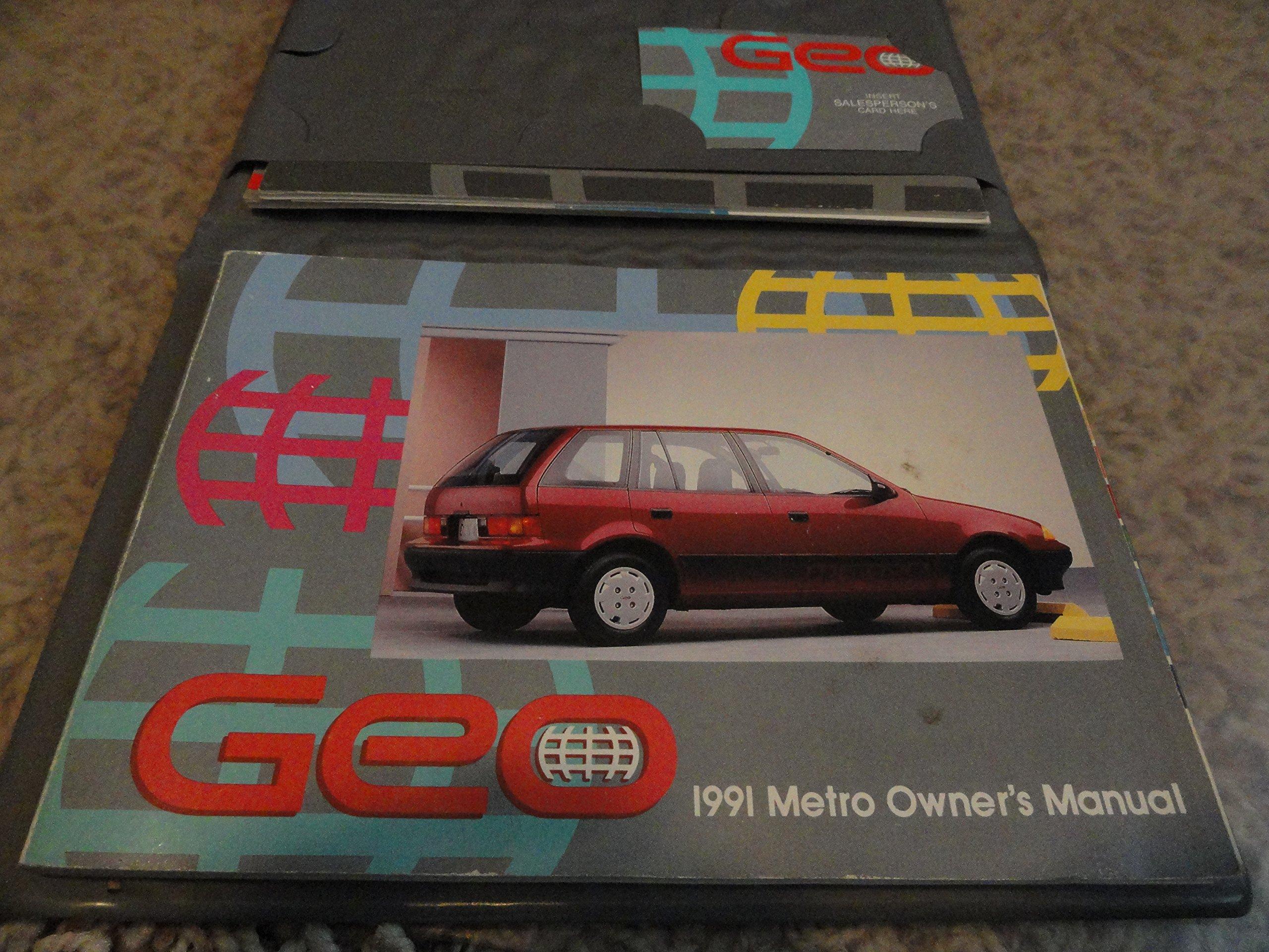 geo metro manual