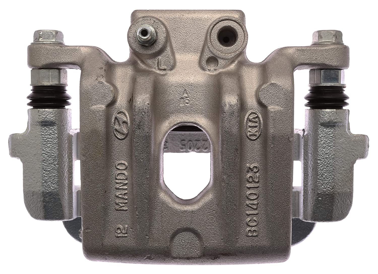 Remanufactured ACDelco 18FR12716C Professional Rear Driver Side Disc Brake Caliper Assembly Friction Ready Coated
