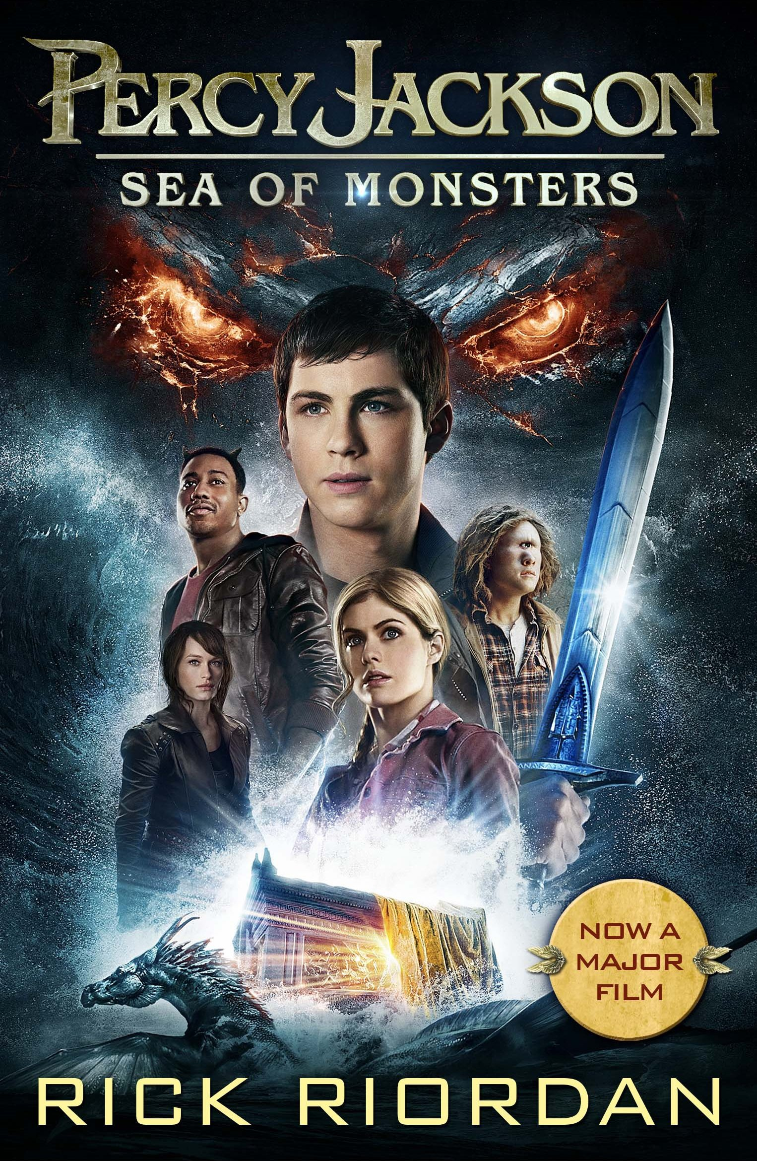Percy Jackson and the Sea of Monsters (Book 2): Amazon.co.uk: Rick ...