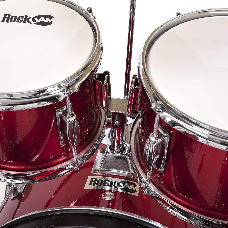 RockJam completo de 5 piezas Tambor Junior con los platillos ...