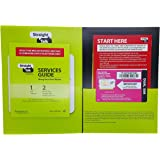 Straight talk Kit with Standard sim card for T-Mobile and Unlock GSM phone (4G LTE available)