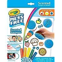 Crayola 752452 Color Wonder Mess Free Coloring Scented Stampers & Markers Set (Set of 12)